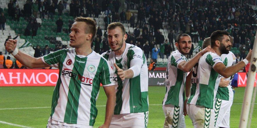 Konyaspor 4 maç sonra kazandı