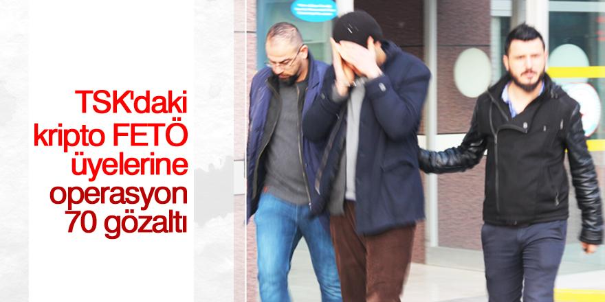 Konya merkezli 34 ilde FETÖ operasyonu: 70 gözaltı