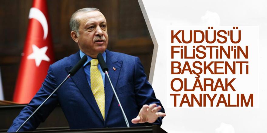 Erdoğan Kudüs zirvesinde konuşuyor