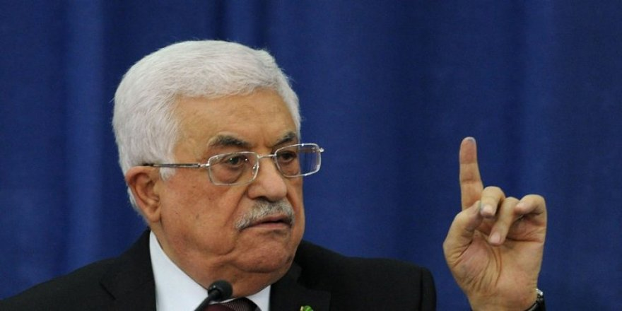 Mahmud Abbas: İsrail'e buradan meydan okuyorum