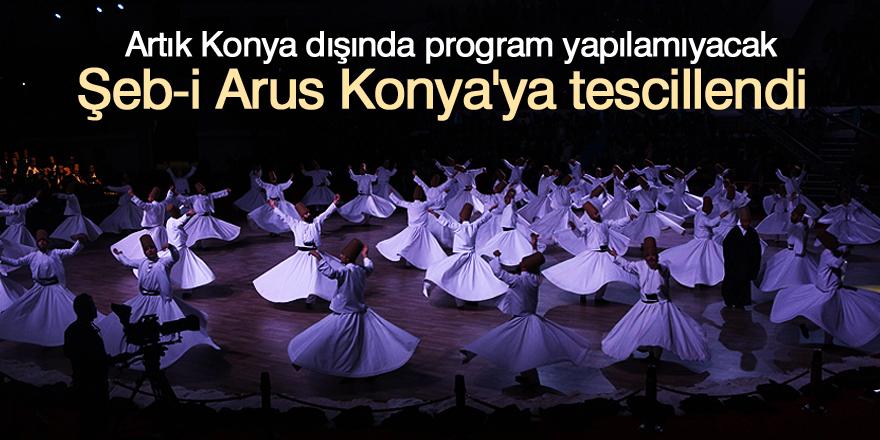 Şeb-i Arus Konya'ya tescillendi