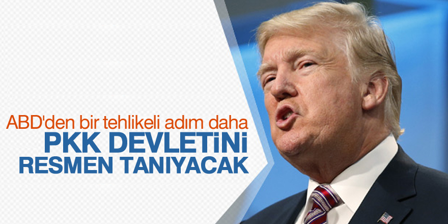 PKK devletini resmen tanıyacak