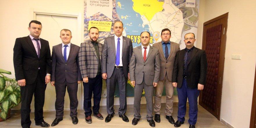 Beyşehir Belediyesi'nde toplu sözleşme imzalandı