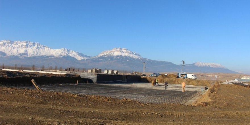 Seydişehir'de termal tesislerin inşaatı hızla yükseliyor
