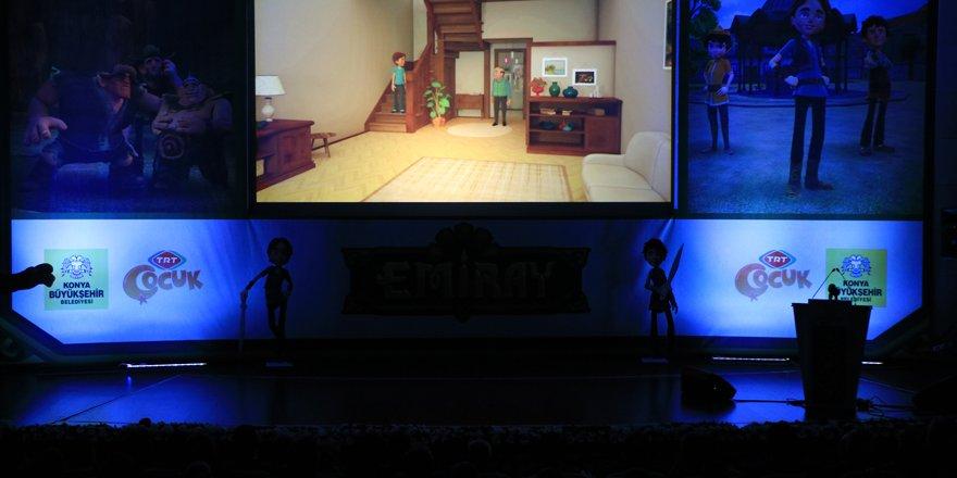 TRT Çocuk'ta Konya'yı tanıtan çizgi film