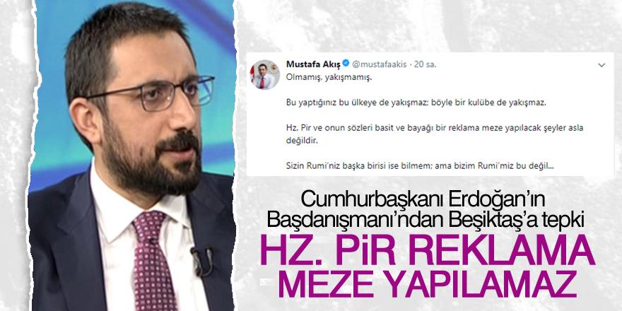 Cumhurbaşkanı Başdanışmanı'ndan Beşiktaş'a tepki