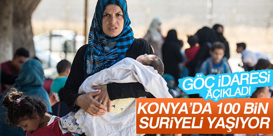 Konya'da 100 bin Suriyeli yaşıyor