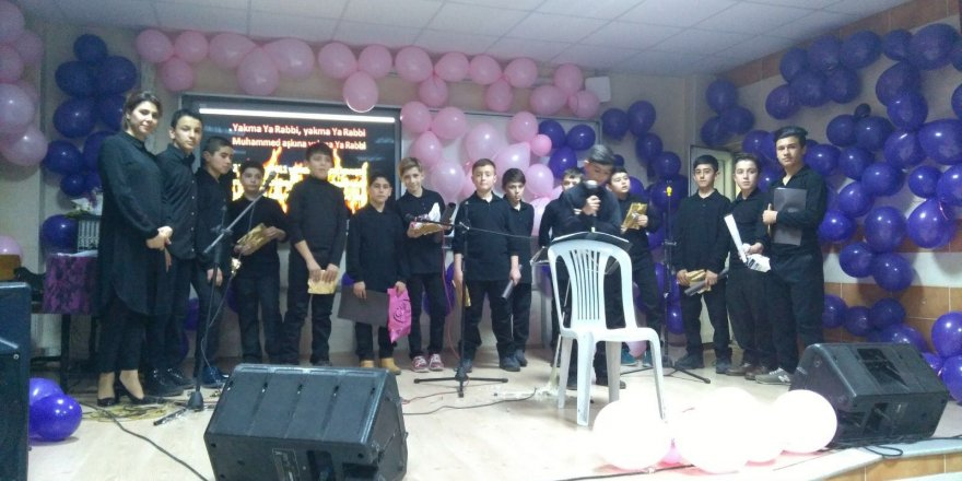 Vakıfbank İmamhatip Ortaokulu'nda ilahi yarışması