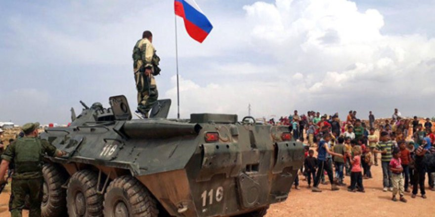 Rus askeri Afrin'den çekiliyor