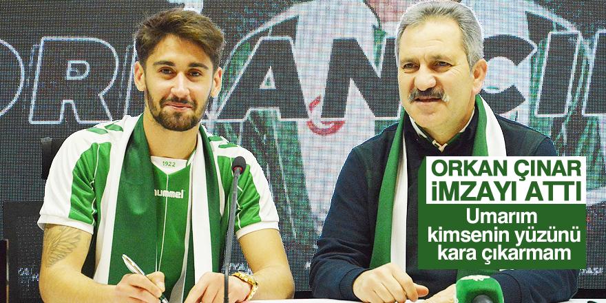 Orkan Çınar, Atiker Konyaspor'da