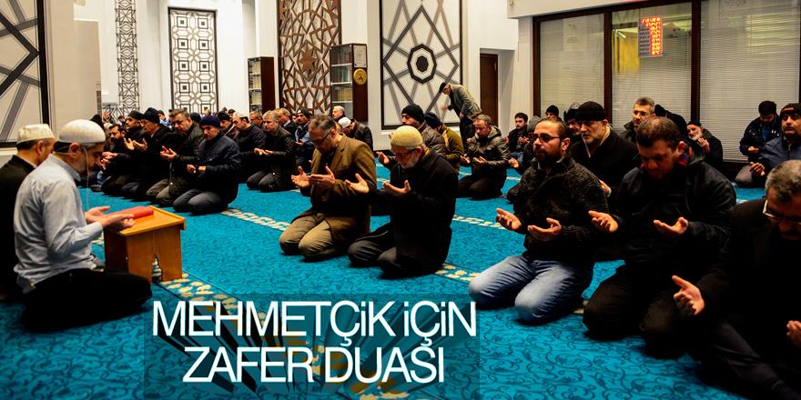 Meram'da Türk askeri için dua edildi