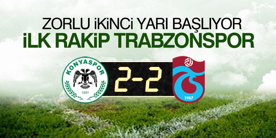 Konyaspor-Trabzonspor| CANLI