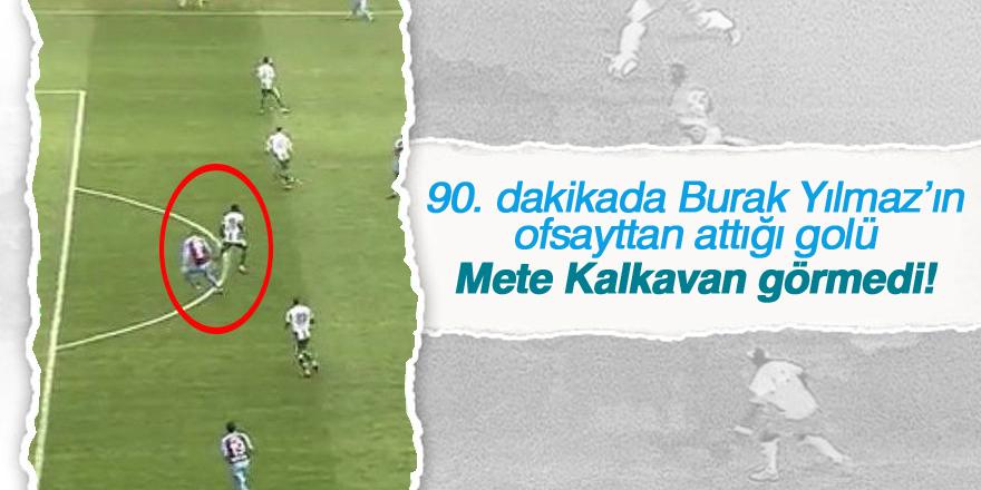 Burak Yılmaz'ın Konyaspor maçındaki ikinci golü tartışma yarattı