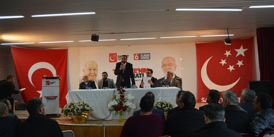 Saadet Partisi Kulu İlçe Kongresi