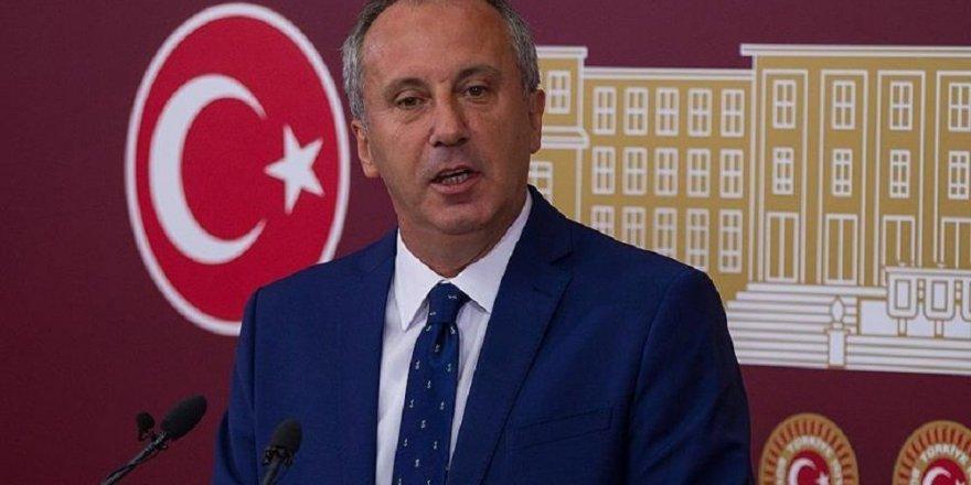 CHP'li İnce resmen açıkladı: Aday adayı değilim, adayım