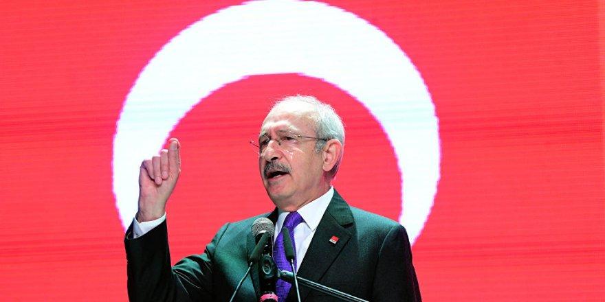 Kılıçdaroğlu: Erdoğan, Afrin operasyonuna verdiğimiz destekten rahatsız