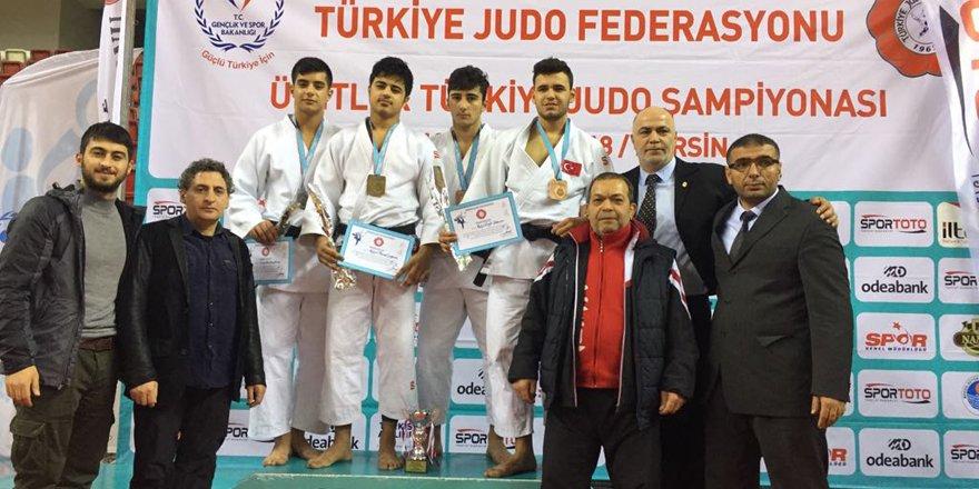 Selçuklu Belediyespor'dan judoda 3 bronz madalya