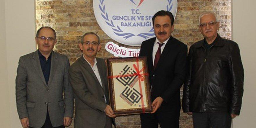 Birlikspor'dan  Ömer Ersöz'e ziyaret