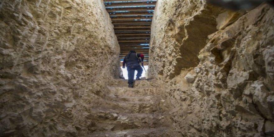 YPG'nin yerin 4 metre altındaki tünel ağı bulundu