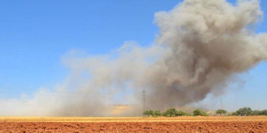 Suriye'de İsrail jeti düşürüldü