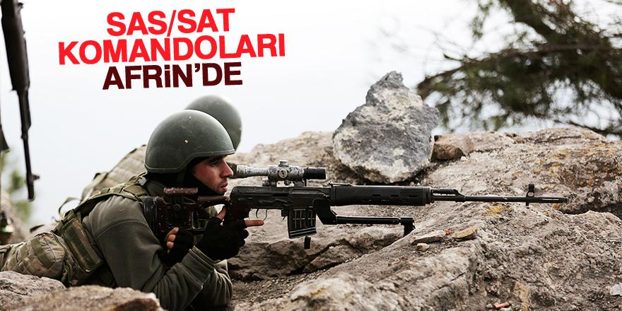 TSK'nın en özel birlikleri Afrin'e gönderildi