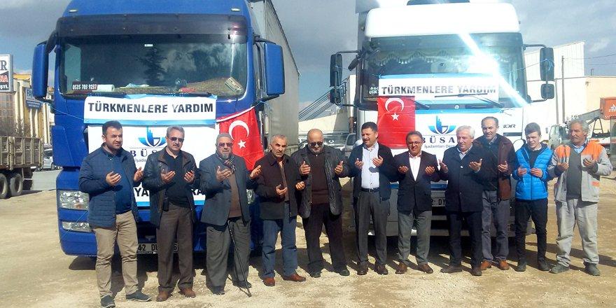 Büsan sanayicilerinden Afrin'e destek