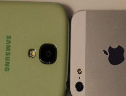 İşte en büyük karşılaştırma! Galaxy S4 vs iPhone 5