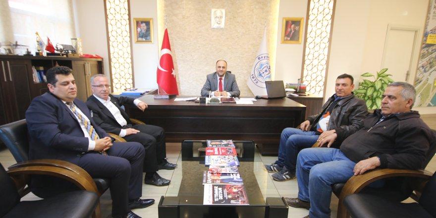 Belediye Başkanı Murat Özaltun'a ziyaret