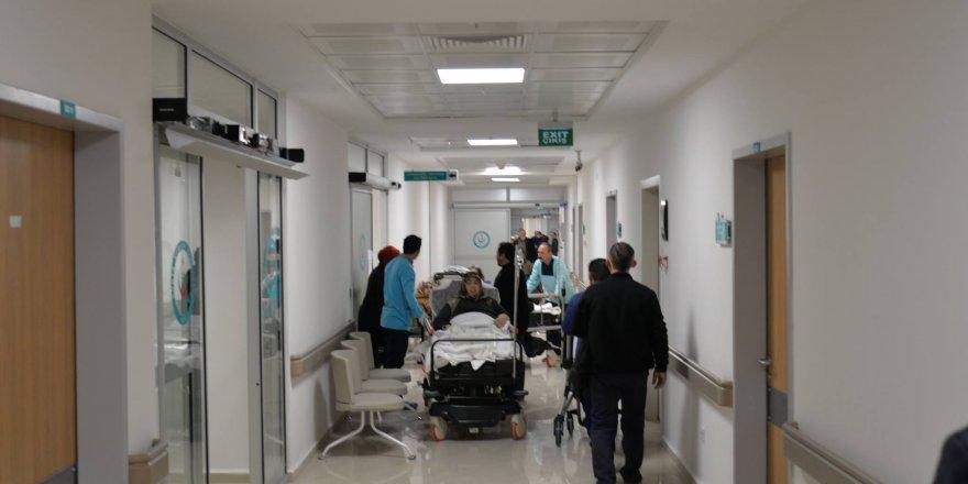 Hastanede otel hizmeti geliyor