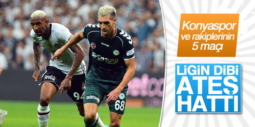 Konyaspor ve rakiplerinin 5 maçı