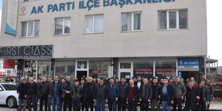 İşçi AKP'nin kapısına dayandı