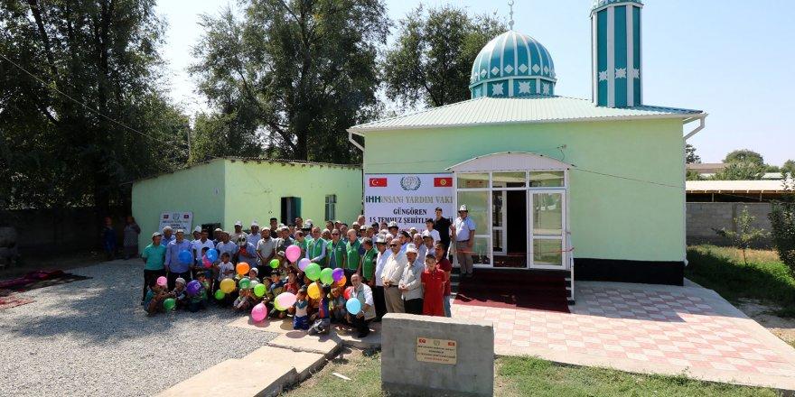 15 Temmuz Şehitleri için Kırgızistan'da 2 yeni cami