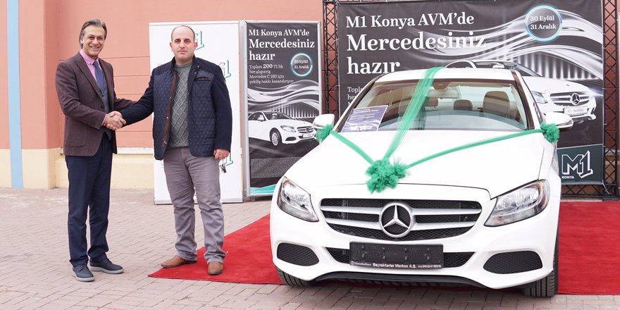 M1 AVM Mercedes talihlisine aracı teslim etti