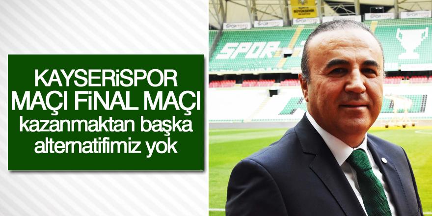 Ahmet Baydar: Kazanmaktan başka alternatifimiz yok