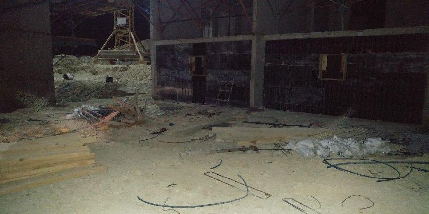 İkinci kattan düşen işçi hayatını kaybetti