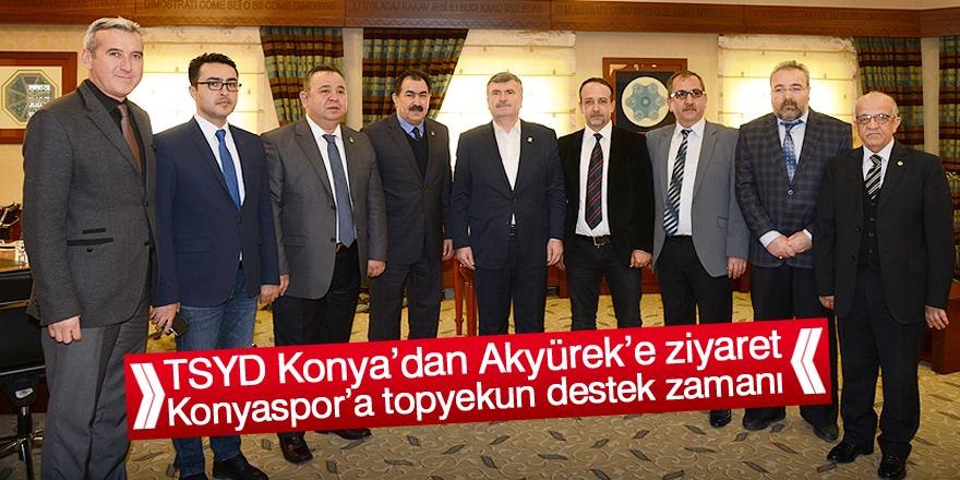 Başkan Tahir Akyürek: Konyaspor'a topyekun destek zamanı
