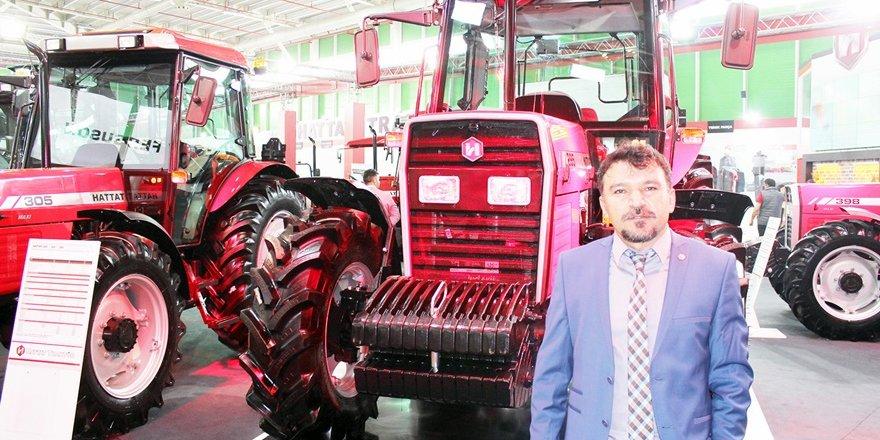 Hattat'tan çiftçi dostu traktör
