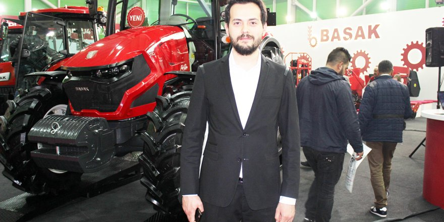 Başak Traktör'ün yıldızı Red Power 3110