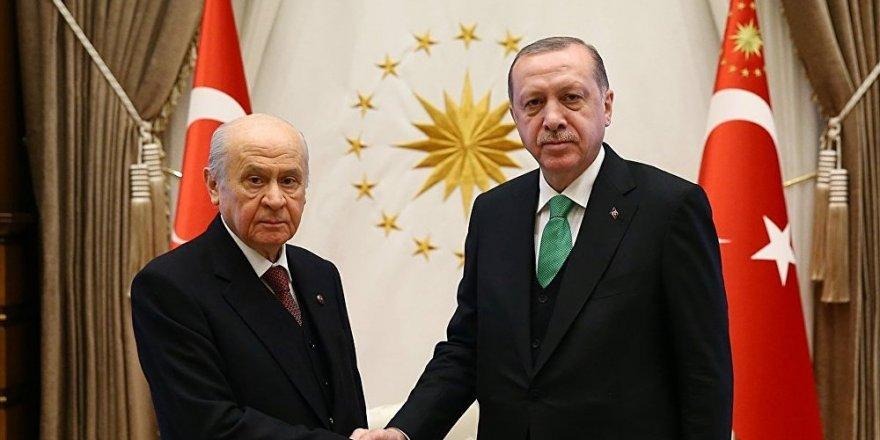 Erdoğan, MHP ile yerel seçimde ittifak için 'dengelere bakacak'