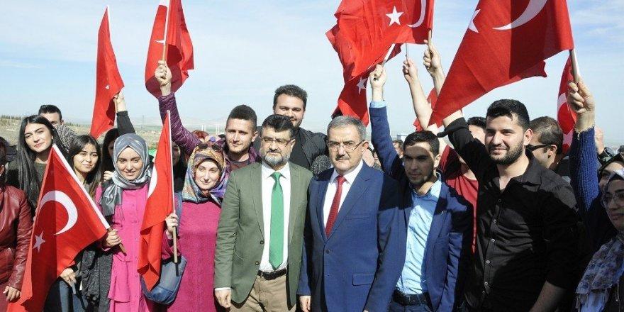 Selçuk'ta, Afrin Şehitleri anısına fidan dikildi