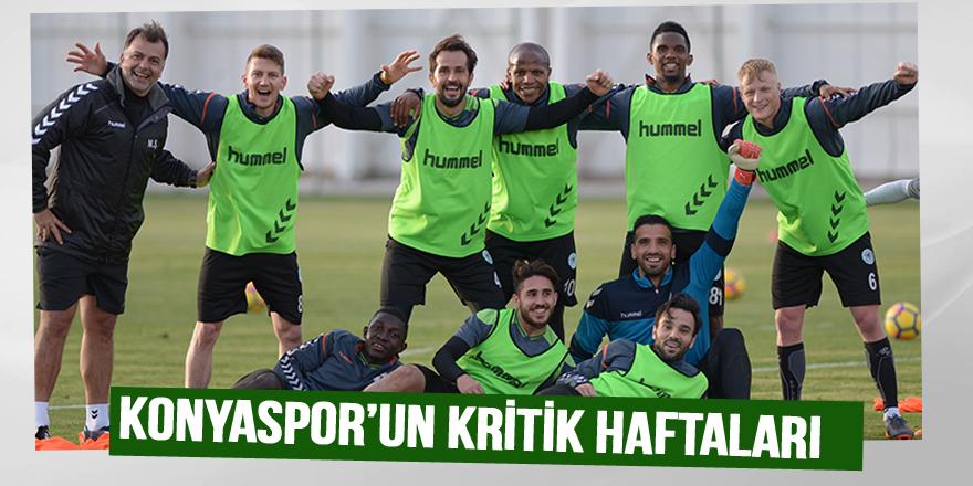 Konyaspor'un kritik haftaları
