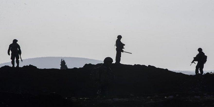 Afrin'de şehit olan askerlerin naaşlarına ulaşıldı