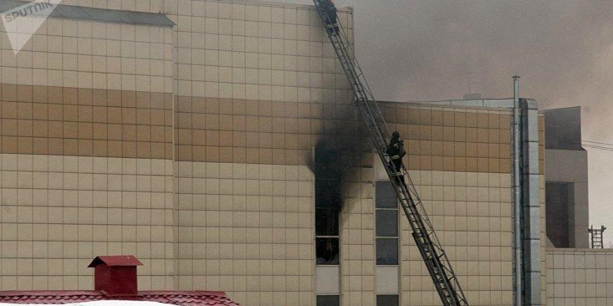Rusya'daki AVM'de çıkan yangında ölü sayısı 53'e yükseldi