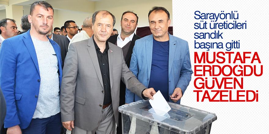 Mustafa Erdoğdu güven tazeledi