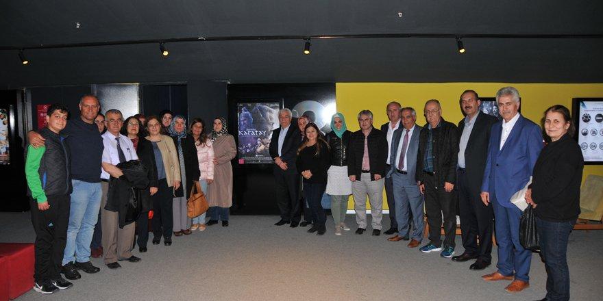 Lokman Hekim 'Direniş Karatay' filmini izledi