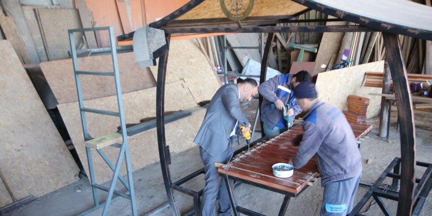Beyşehir'de rekor sayıda kamelya üretimi