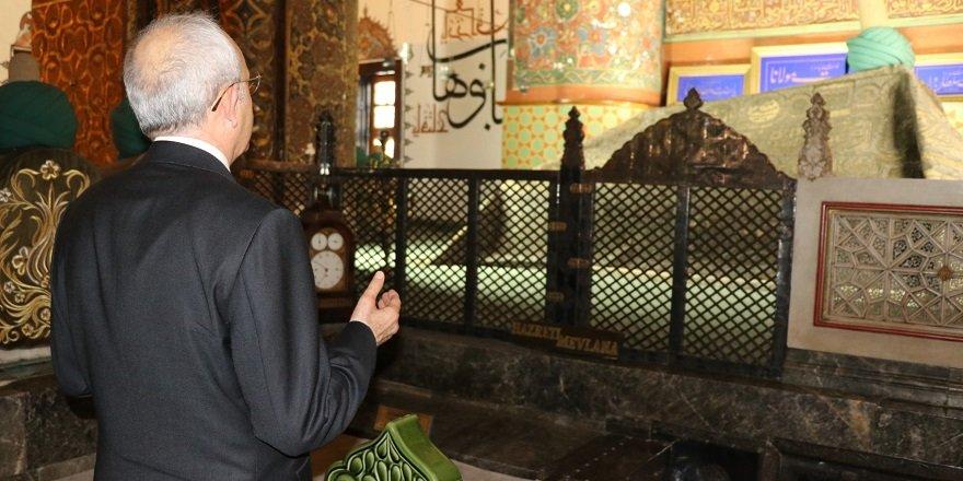 Kılıçdaroğlu, Mevlana Müzesi'ni ziyaret etti