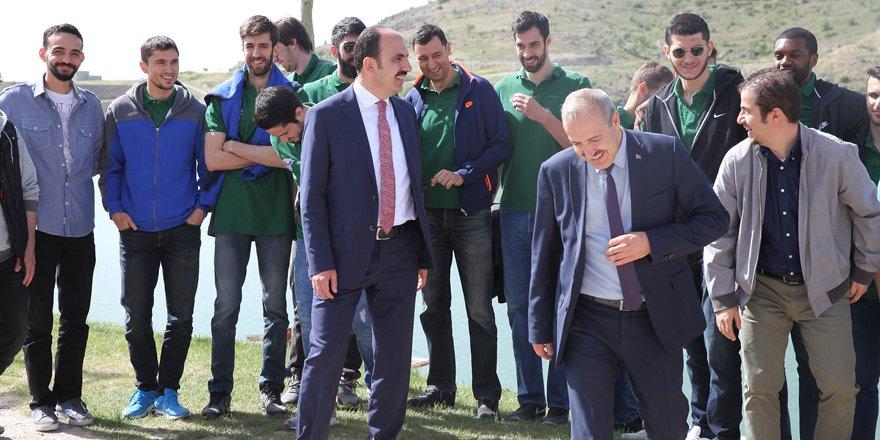Başkan Altay Play-Off'tan umutlu