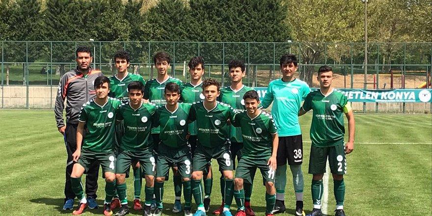 Konyaspor'da U14 ve U15 takımları son 8'e kaldı