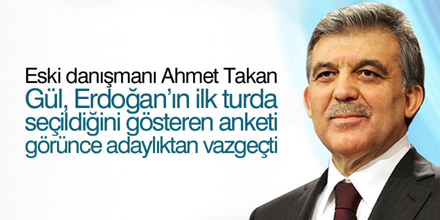 'Abdullah Gül'ü korkutan anket'